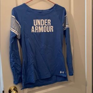 Baby blue Under Armour Athletic Long Sleeve